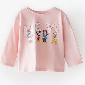 Zara Disney Minnie Top
